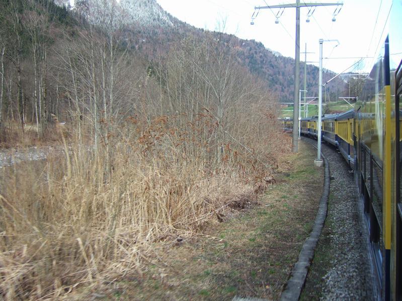 En Route from Lauterbrunnen to Interlaken