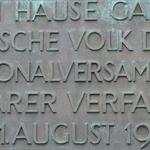 Gruendung der Weimarer Republik