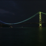 Akashi Bridge at Night