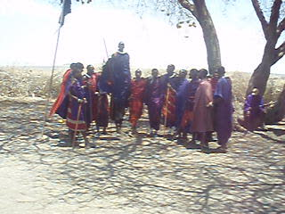 Welcome Dance by Masai ppl.AVI