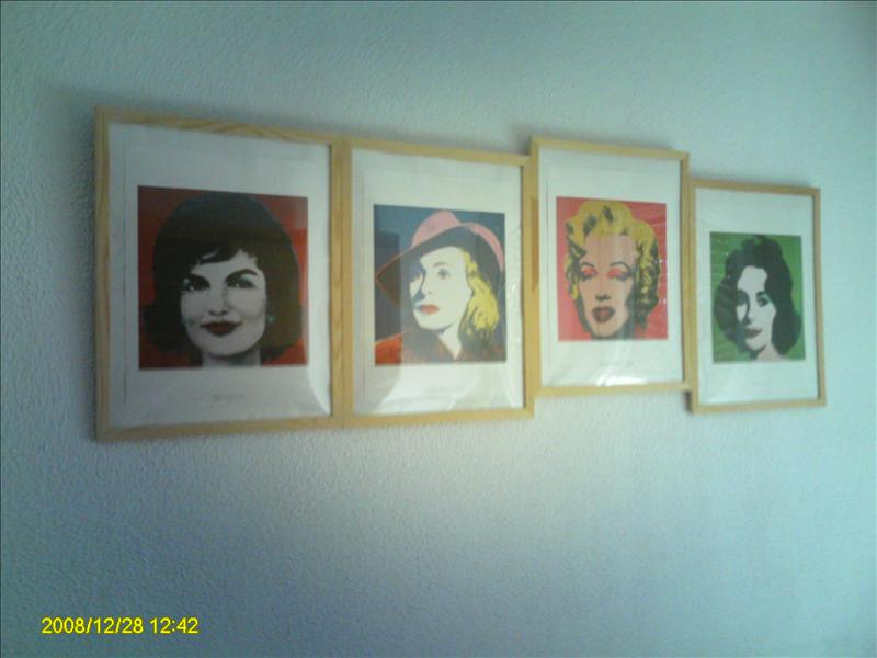 cool photos on wall