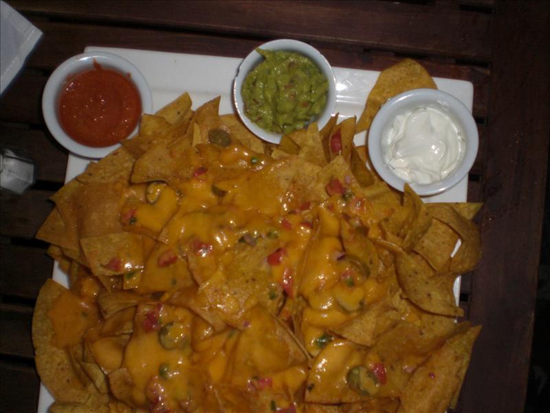 1 persoonsportie nachos