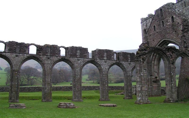Ruins Castle near Gloucester, United Kingdom