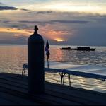 Sun set in Nabul Island