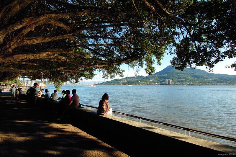 淡水河邊 Dan Shui River