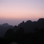 黄山(Yellow Mountain), ,安徽(AnHui), China, Sep 2008