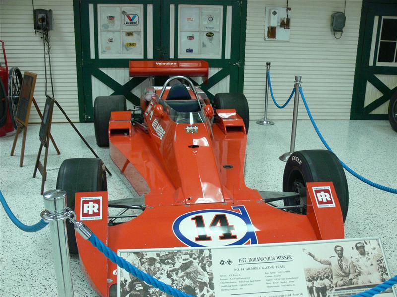 AJ's 1977 car