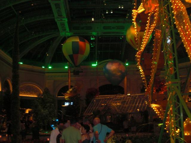 Bellagio off the lobby