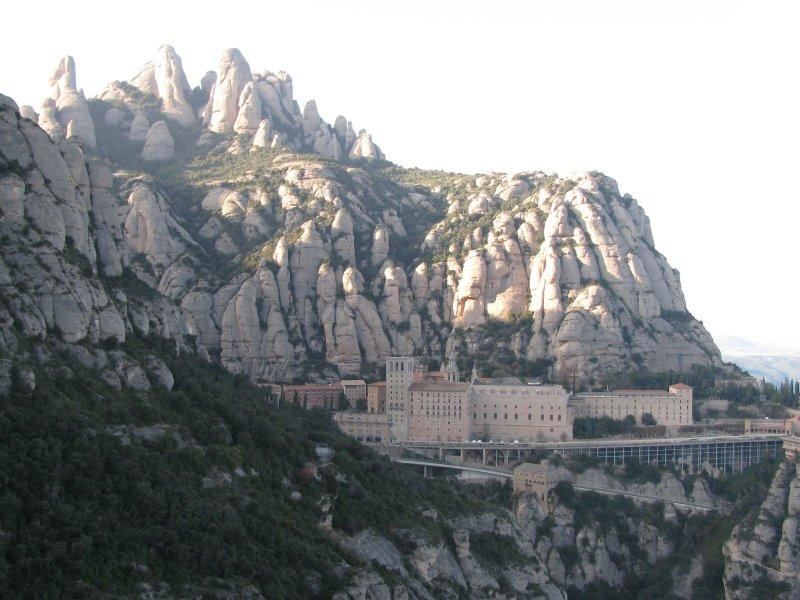 The Monestary at Montserrat...