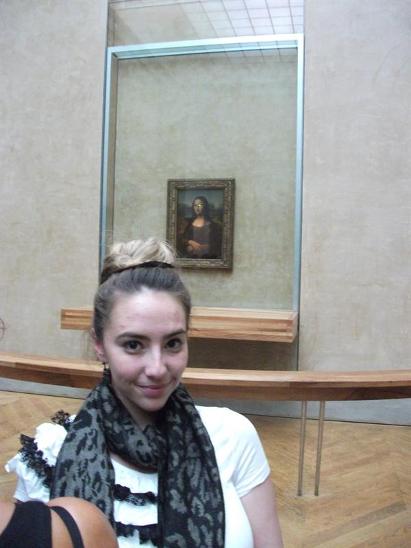 Mona Lisa and Me!!