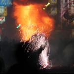夜炸土地公為每年的慶典的重頭戲
