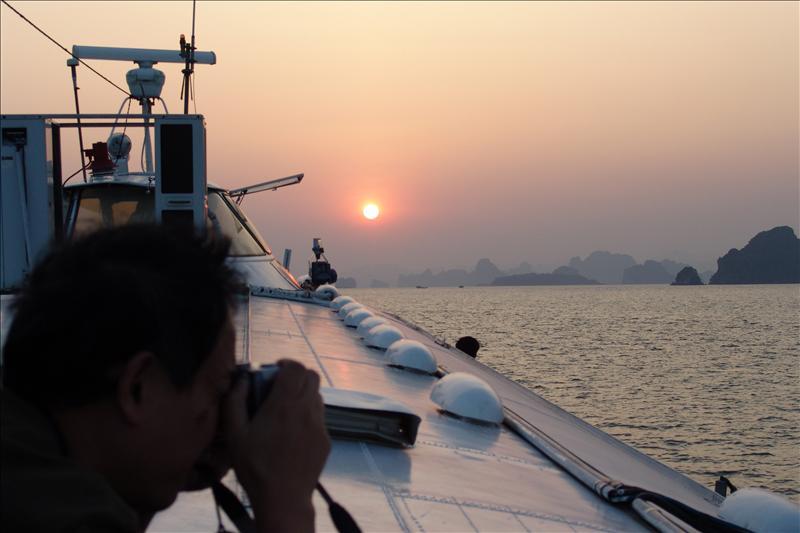 越南、下龙湾