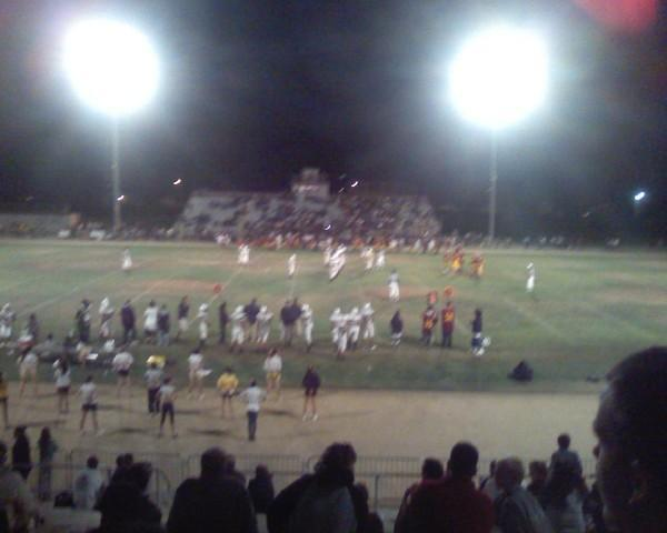 delmar vs, cupertino football game