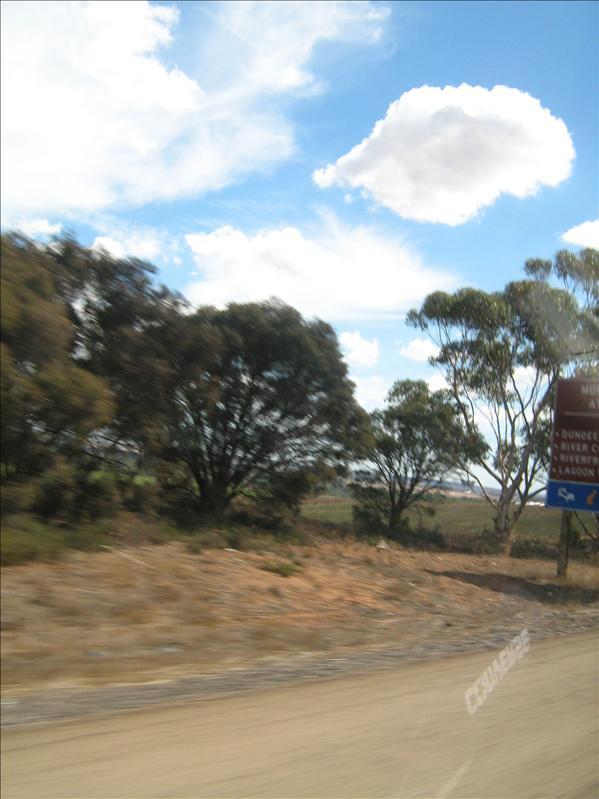 was trying to get the sign for adelaide, kept missing it!