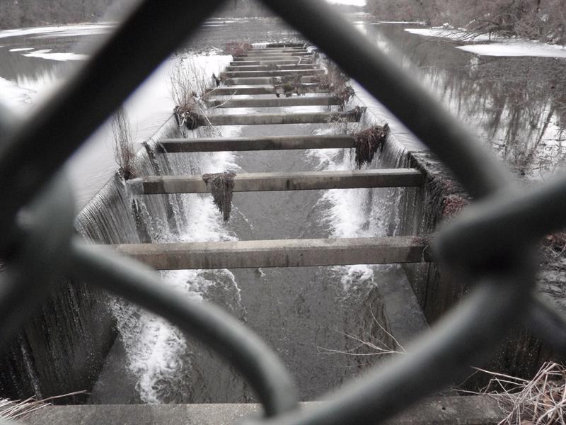 Wildwood Lake spillway