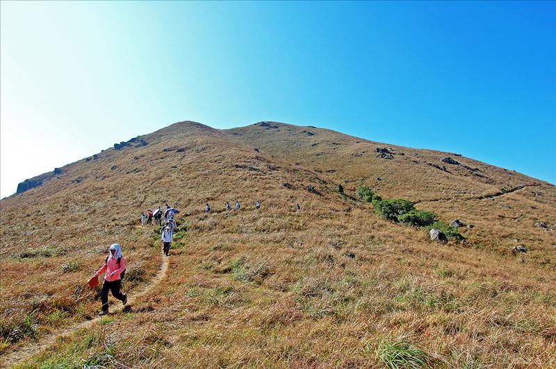 二東山往雙東坳的環腰山徑