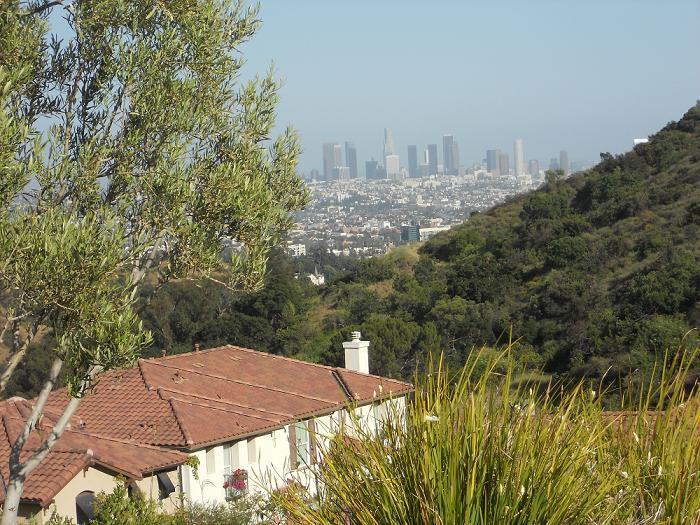 LA - view from the Hollywood Hills