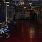 mess hall below decks