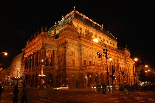 The National Theatre (Národní Divadlo) - one of the the most important Czech cultural institutions. And by far, my fav night-shot.