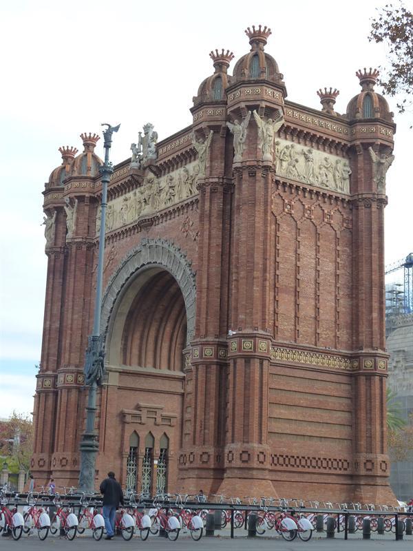 Arc de Triomph, Barcelona (12.7)
