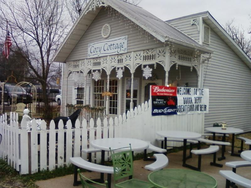 the Cozy Cottage sells upscale gifts
