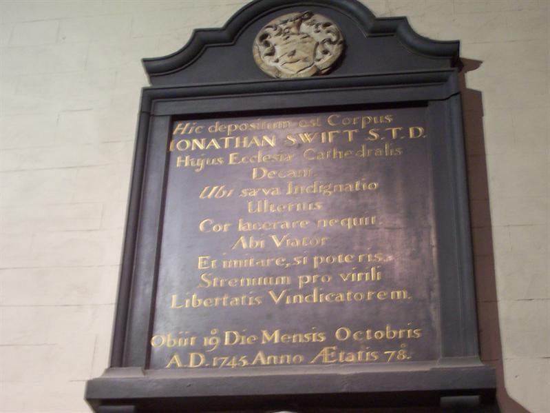 Swift memorial.