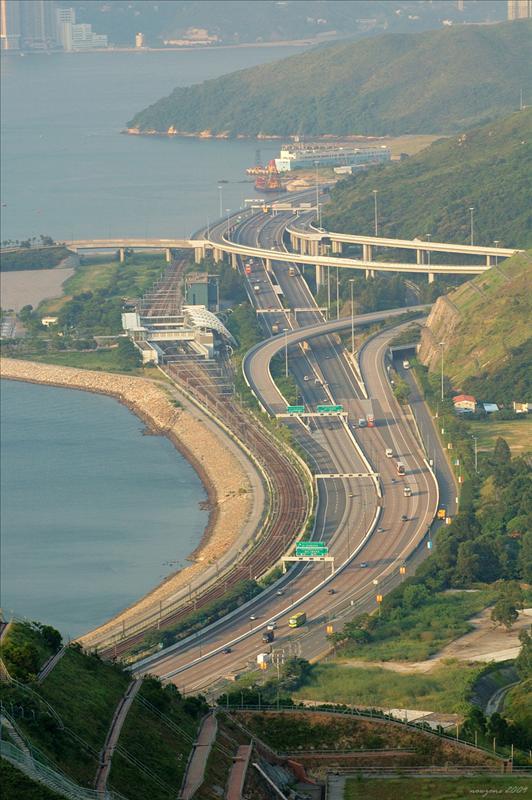陰澳一帶及北大嶼山高速公路