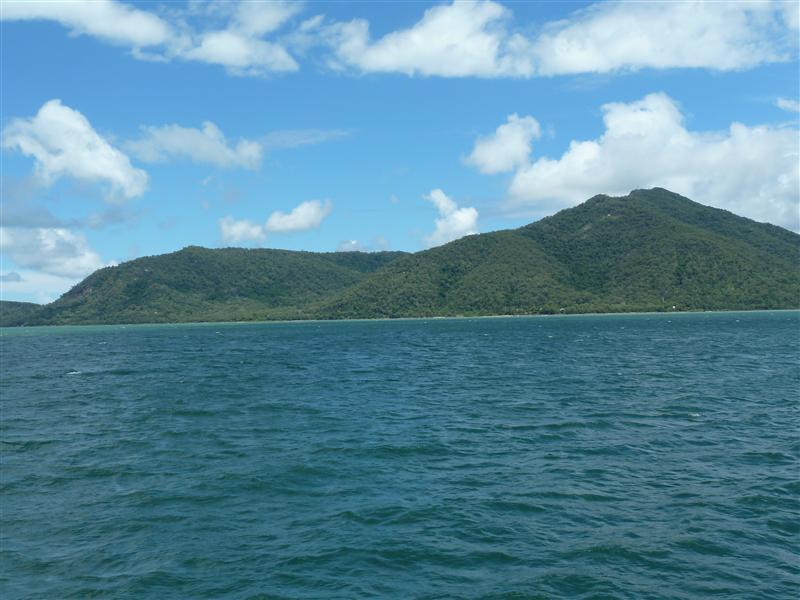 Indsejlingen til Cairns