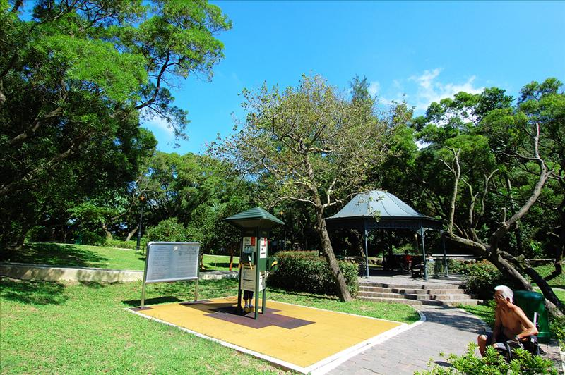 夏力道尾公園郊遊場地picnic site at the end of Harlech Road