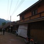 Main street Pakbeng