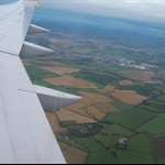 First glimpse of Ireland.