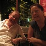 Blair & Cathy at Khop Chai Deu Restaurant