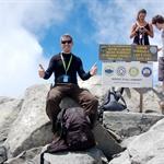 Climbing the Mont Kinabalu