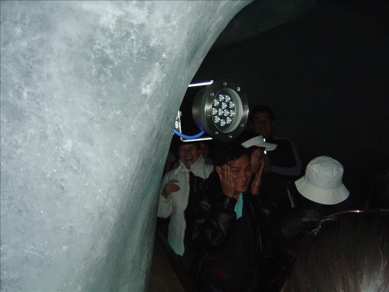 Ice-tunnel