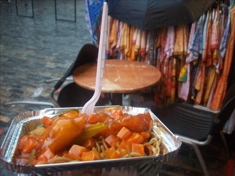 My chinese food, ew, camden market