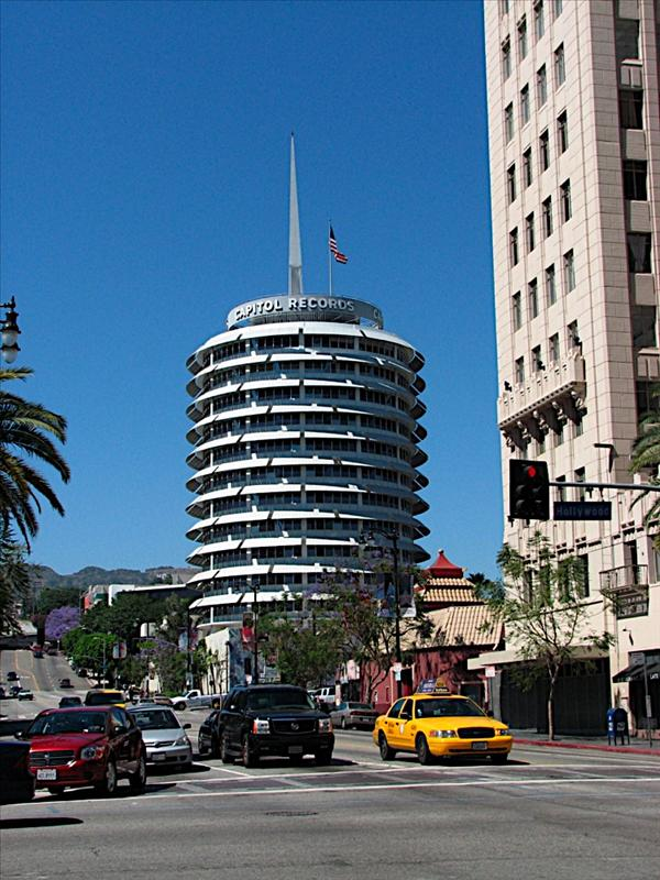 Famous Capitol Records Building