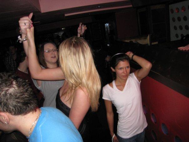 Dancing around, night before my bday...