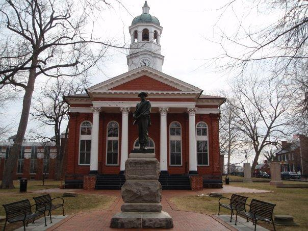 Old Courthouse in Leesburg, Virginia