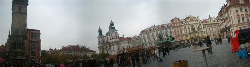 The main square and christmas market!