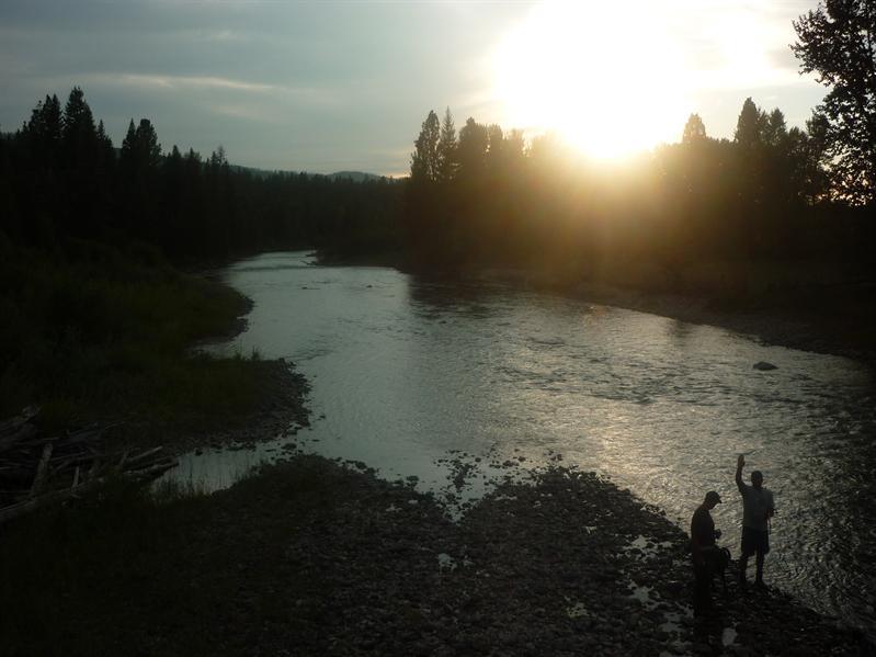 Sunset in Ovano