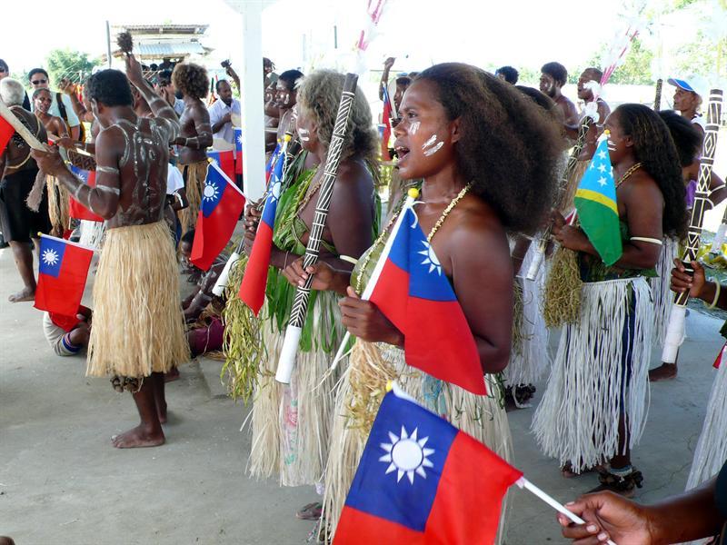 酋長的村民們