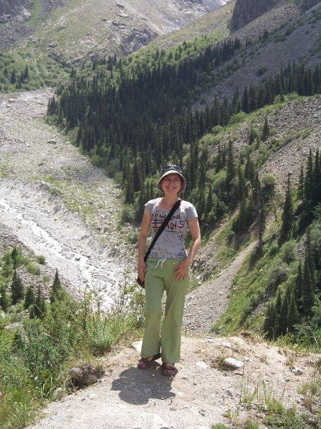 MARIA IN THE ALA-ARCHA CANYON
