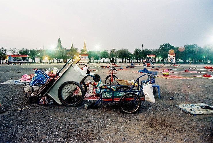 moring in Sanamluang