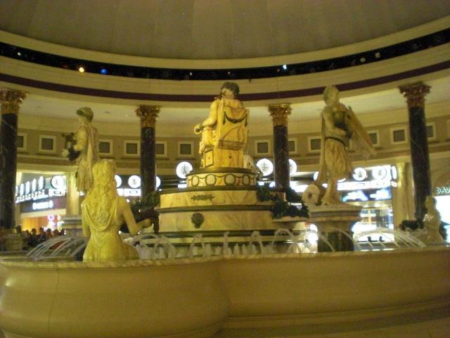 Bacchus fountain @ Caesar's