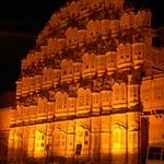Hawa Mahal, Viaje India