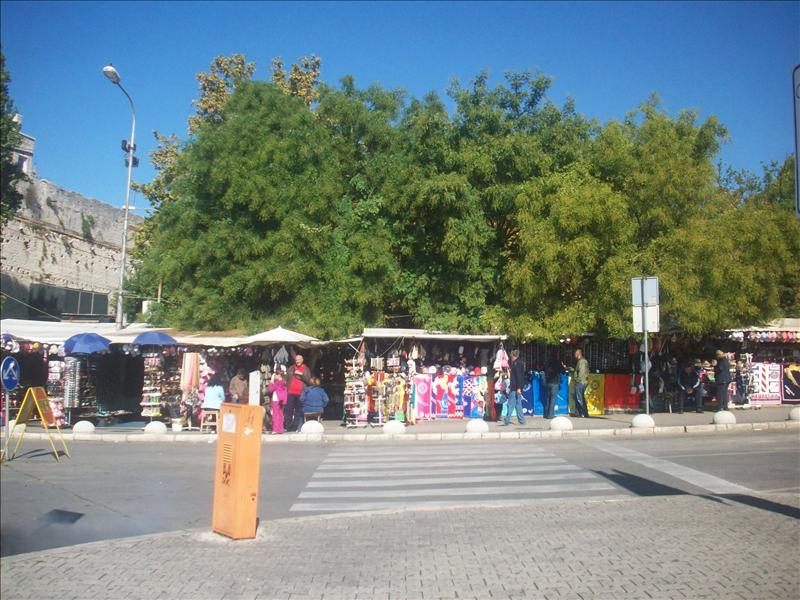 The market in split
