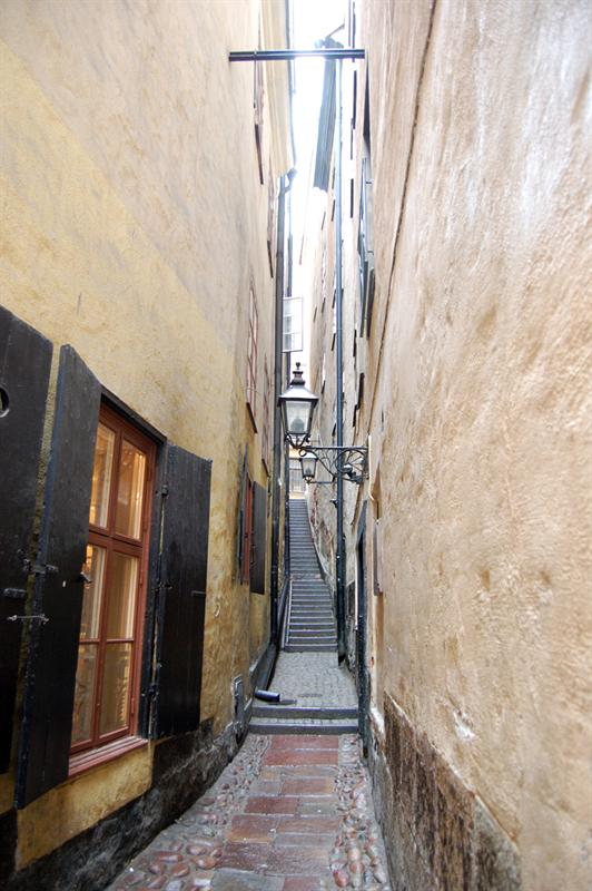 "Narrow ""Street"": Stockholm"