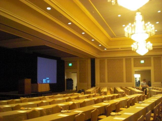 Other half of huge ballroom @ Ritz