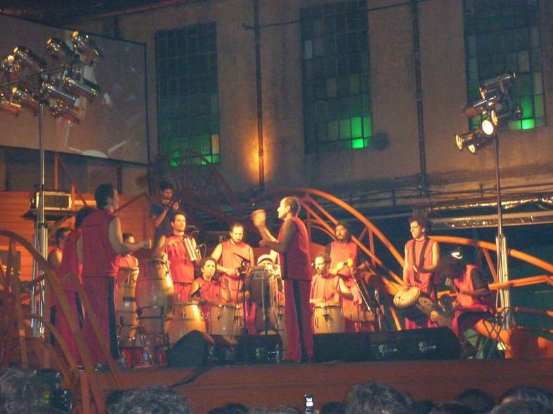 La Bomba - a great night of bongo's! Weird one really...