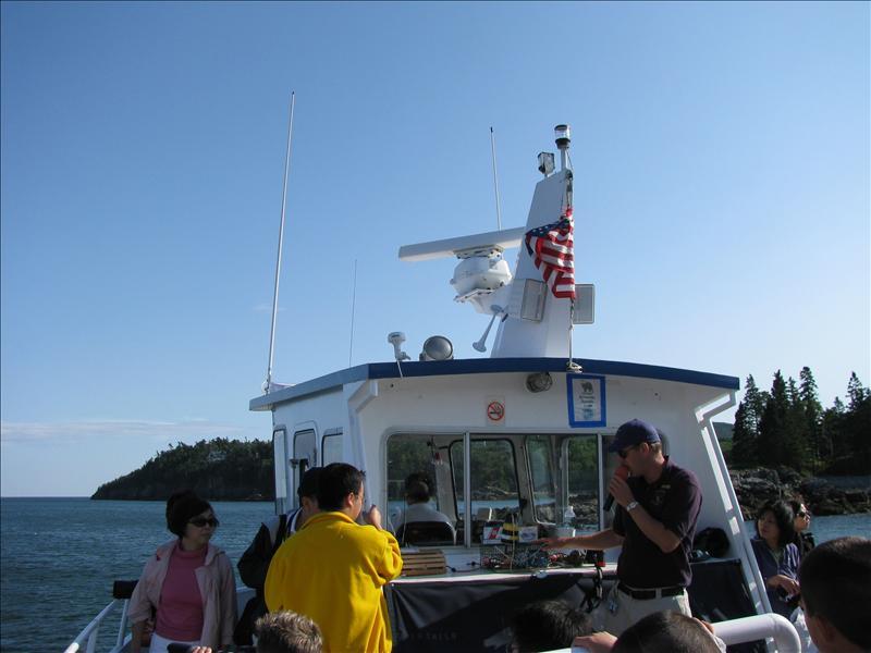 Ook een boottochtje gedaan rond eilandjes